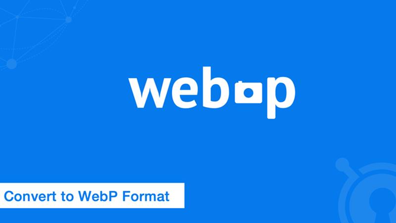 WebP imagem ajuda na velocidade do site. Imagem - WebP