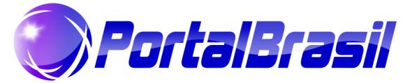 Logo Portal Brasil mono azul